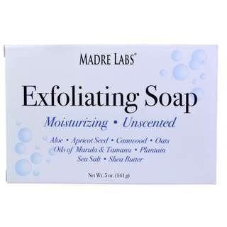 [現貨] Madre Labs, Exfoliating Soap 袪角質皂(無味)