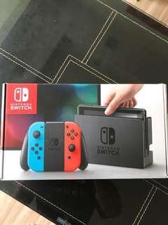 Nintendo Switch Console Korea Export