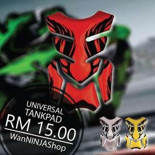 Universal Tankpad shiny effect decal for kawasaki yamaha honda