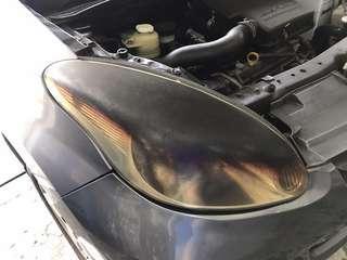 Head Lamp Polish