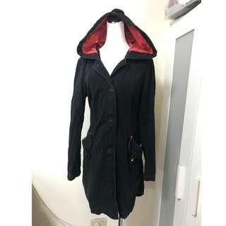 🚚 免費贈 女孩最愛專櫃品牌 a la Sha 連帽外套 保暖內裡可拆 兩穿式多用途外套