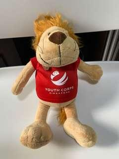 🚚 Lion Soft toy from Youth Corps