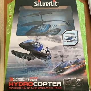 全新未開封!Silverlit Hydrocopter 水上遙控直升機