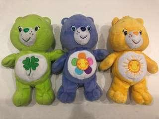 Care Bears - 6 inches tall