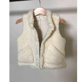 Uniqlo baby's winter fluffy jacket