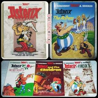 ASTERIX comics series books