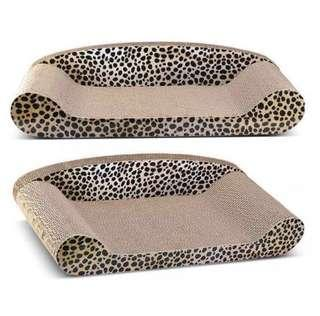 🚚 Leopard sofa bed scratcher for cats