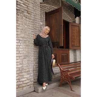 Dotty dress by Vanilla Hijab