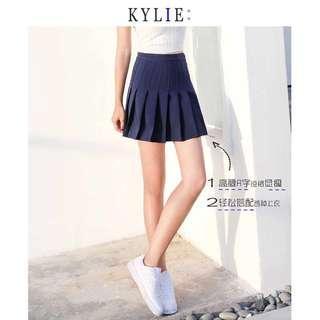 Navy blue tennis skirt ‼️FREE MAILING‼️