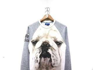 Sweater Sweatshirt Crewneck Adidas Bulldog