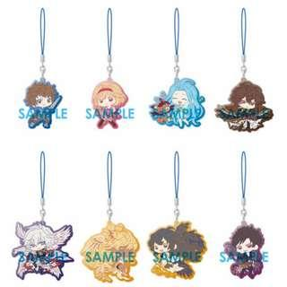 (BOX 3 Opened) Granblue Fantasy Clear Rubber Strap Paradise Lost Whats Makes the Sky Blue Part 2