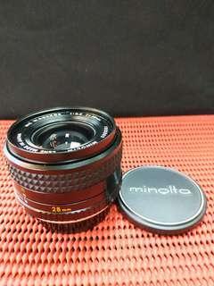 Minolta MC Rokkor 28mm F3.5
