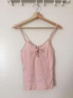Cotton On Baby Pink Tank Top/ Sleeveless Cami