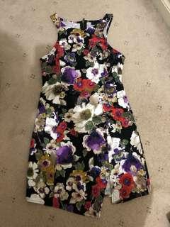 Ladakh size 10 slit floral  dress