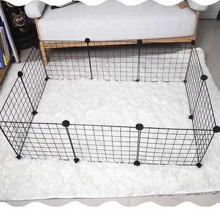 🚚 Instock Small Animal Pet Rabbit chinchilla guinea pig playpen enclosure