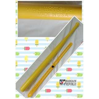 Wiffle Ball Bat Plastic Yellow Bat 32in