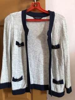 Dorothy Perkins Light Grey Cardigan
