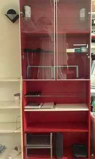Ikea billy bookcase with light