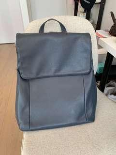 Urban Navy Leather backpack