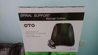 BNIB OTO Spinal Support Massage Cushion