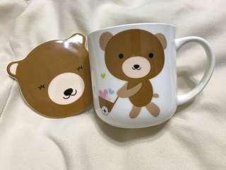 🚚 可愛小熊陶瓷杯