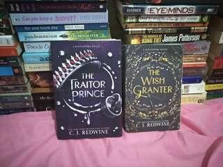 the traitor prince and the wish granter by c.j. redwine