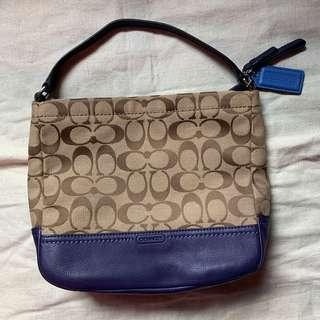 Authentic Coach Small Handbag / Lunch Bag