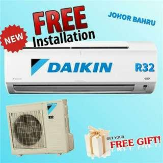 Aircond Daikin non inverter wall mounted