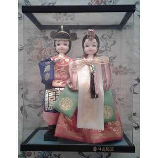 Traditional Korean dolls