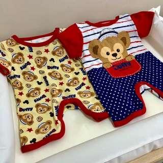 迪士尼Duffy 一套兩件嬰兒套裝