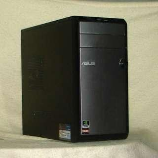【ASUS爆殺武士CM-1435】A10-5700/8G記憶體/HD7660D內顯/1T大碟/正版Win7