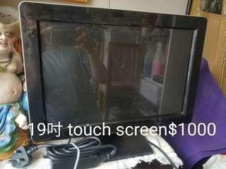19吋 touch screen