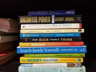 🚚 Self Improvement Books Collection 3 of 3 for Sales