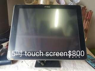 15吋 touch screen