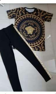 set versace premium / stelan import / baju set gucci fendi hermes / list pants