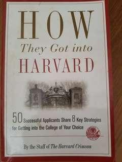 🚚 How they got into harvard