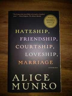 🚚 Alice Munro - Hateship, Friendship, Courtship, Loveship, Marriage