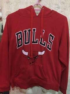 NBA hoodie (Bulls Red)