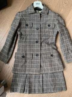Vintage Christian Dior suits set 短裙套裝 100%毛料