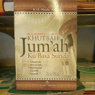 Buku Kumpulan Khutbah Jum'ah Basa Sunda