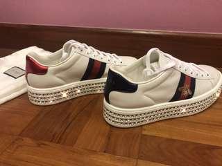 5f09031f6aa5b Gucci Diamond Platform Sneakers