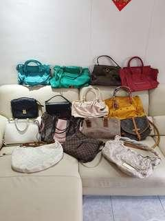 Luxury bags for sale Louis Vuitton balenciaga lv celine ysl mulberry