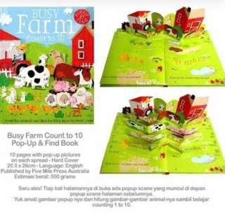 BBW - Busy Farm count to 10 board book