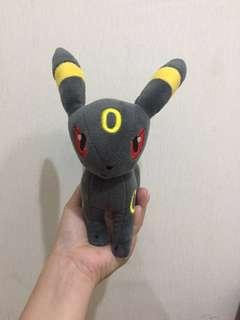 Boneka Pokemon Eevee Umbreon