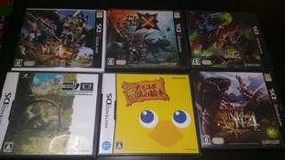 4盒3ds,2盒nds遊戲,齊書