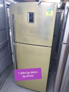 🚚 Used samsung 335 litres huge fridge cheap good good with free delivery