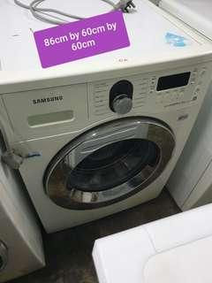 🚚 Used samsung front load 8kg washing machine cheap with free delivery