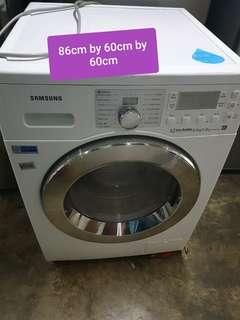 🚚 Used samsung 8kg/5kg washer and dryer cheap good with free delivery