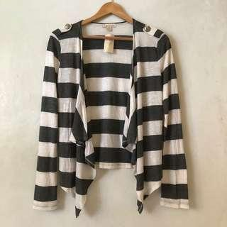 BNEW Forever 21 striped cardigan