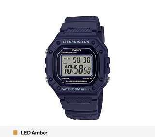 Dark Blue Casio Watch! BN w box! Instocks!!